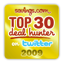 I'm a Top 30 Deal Hunter!