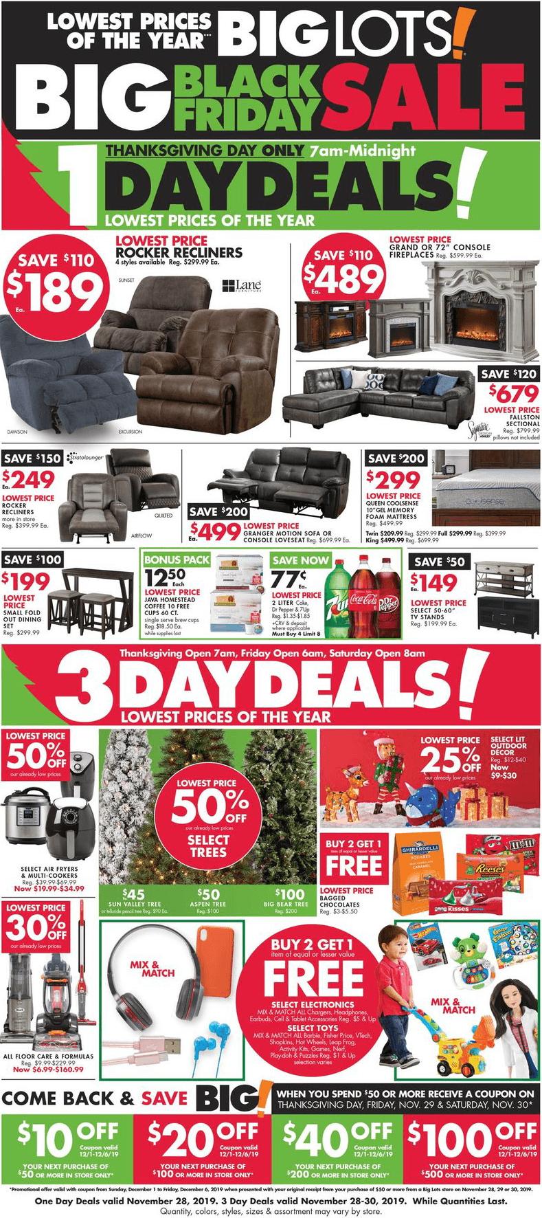 Big Lots Black Friday 2020 Ad Savings Com