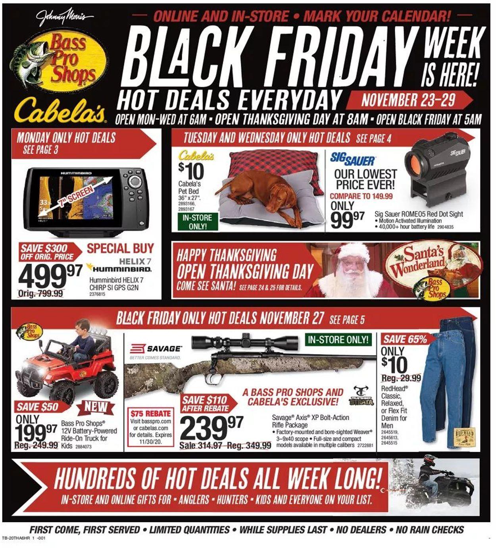 Bass Pro Shops Black Friday 2021 Ad - Savings.com