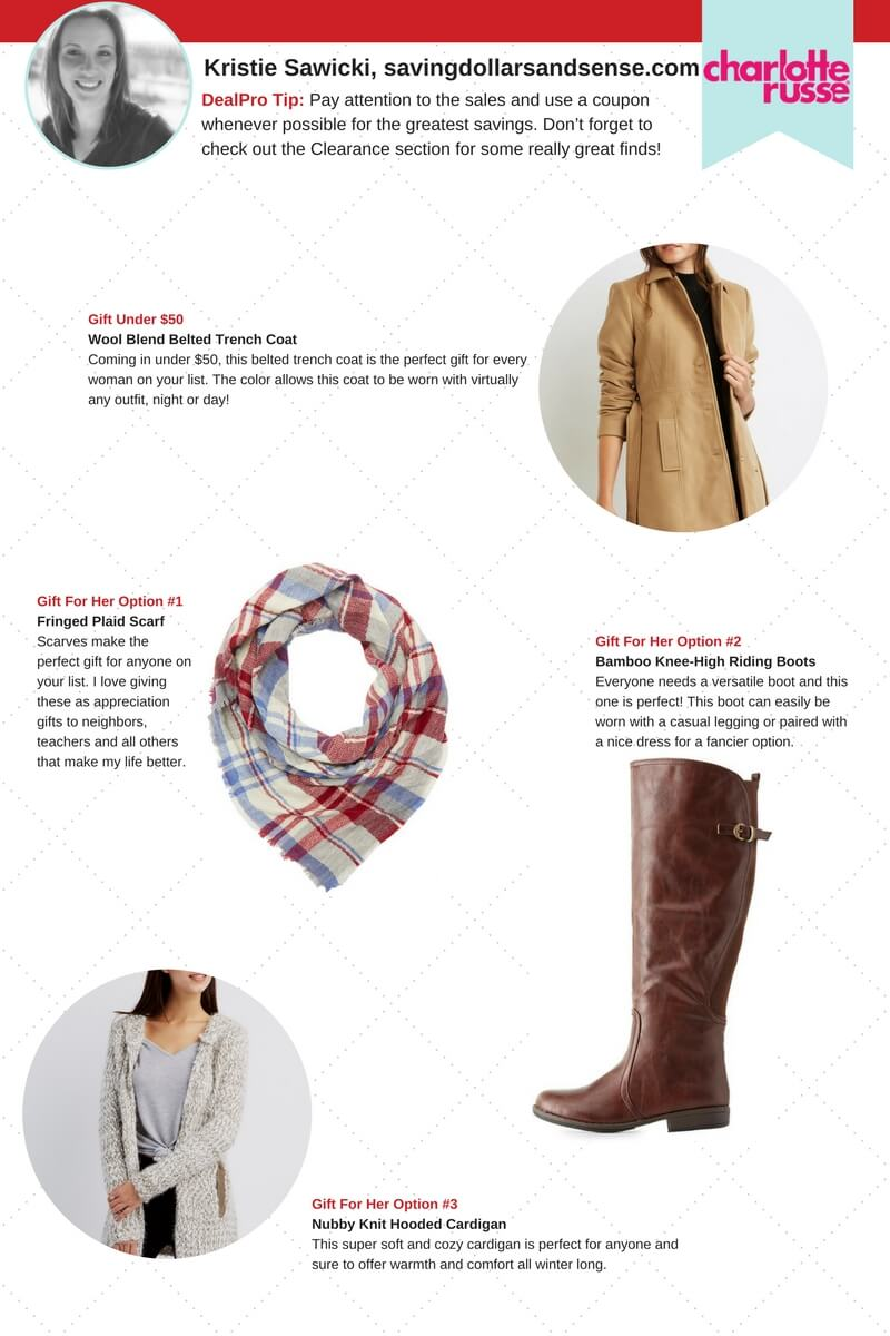 Charlotte Russe Gift Guide