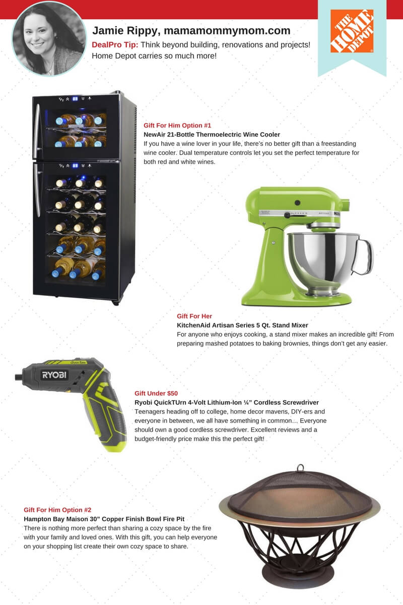 Home Depot Gift Guide