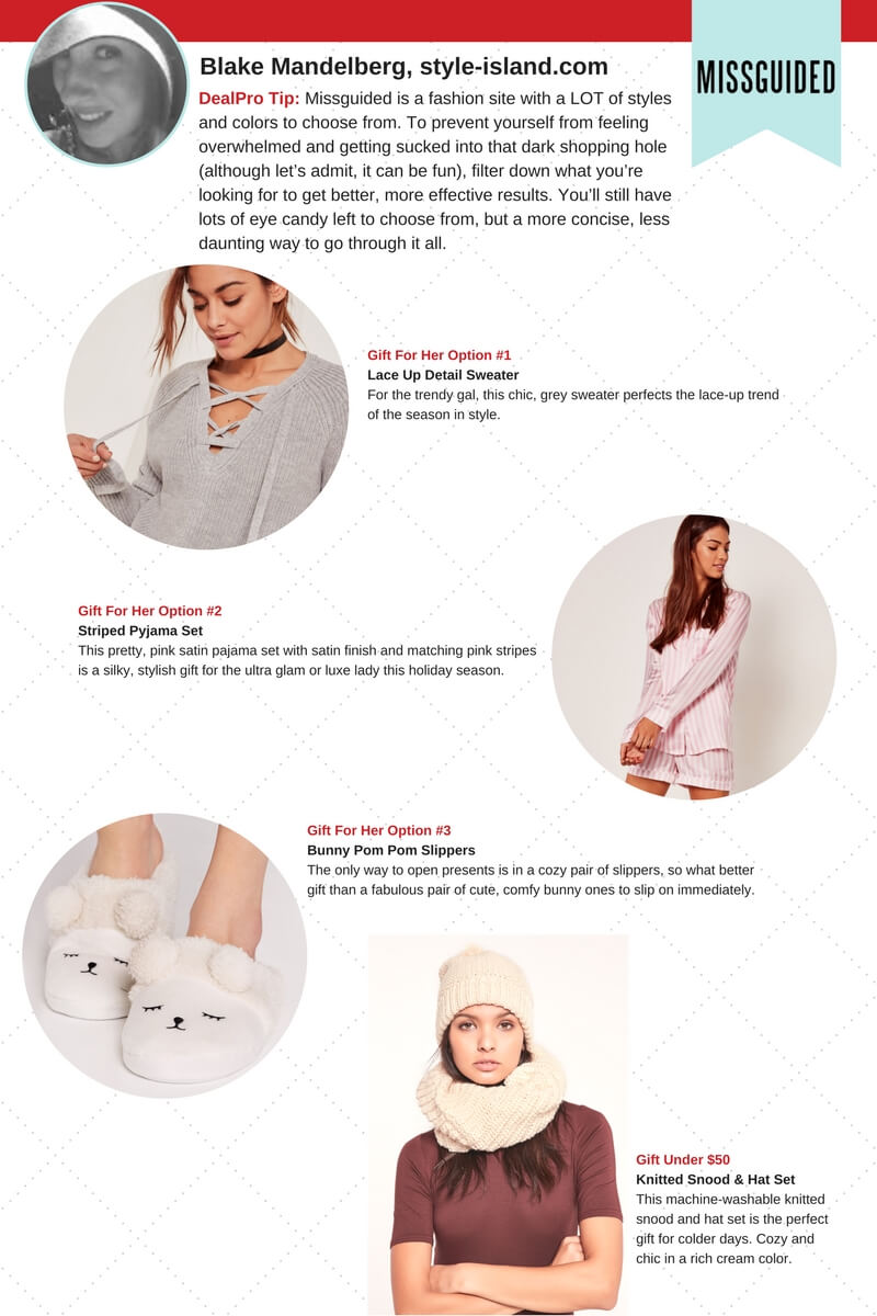 Missguided Gift Guide